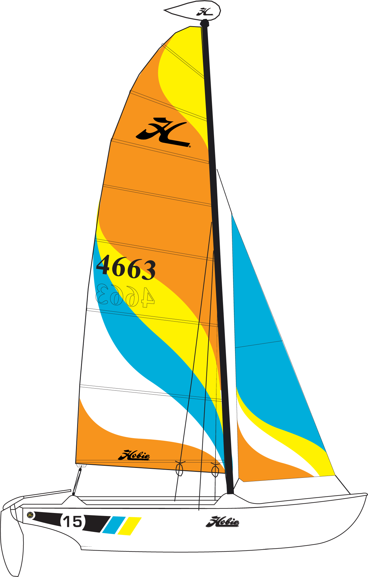 Hobie 15 Catamarans